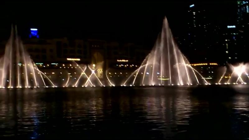 Поющие фонтаны в Дубае.29.04.2018