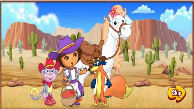 Даша Путешественница приключения на пони. Dora the explorer pony adventure