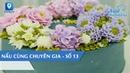 [Nấu Cùng Chuyên Gia số 13] - Hướng dẫn tạo hình hoa cho bánh kem bơ | Feedy TV