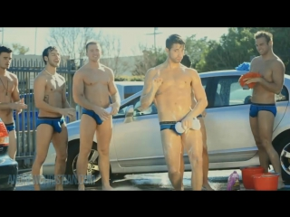 Гей клип Andrew Christian - Freshman Car Wash Wow