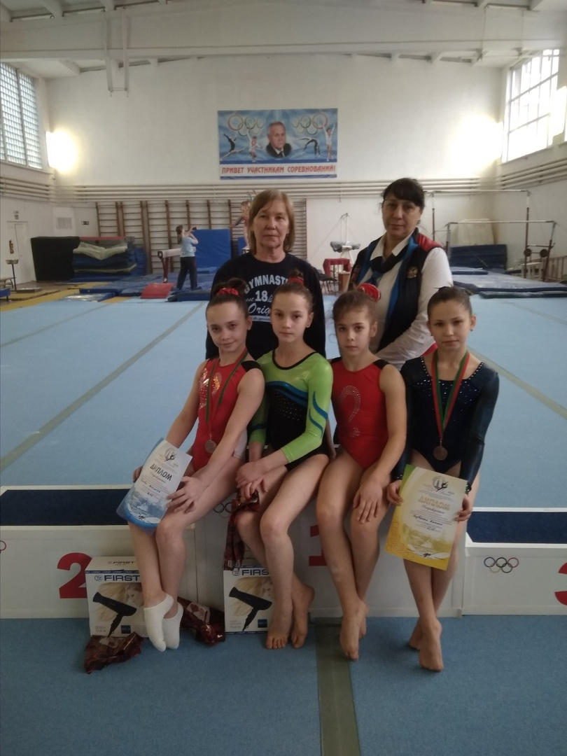 Команда города Донецка приняла участие в соревнованиях по спортивной гимнастике в Республике Беларусь