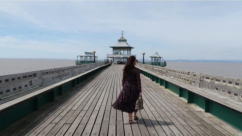 ЖИЗНЬ В АНГЛИИ: СЕВЕРНЫЙ СОМЕРСЕТ, МОРЕ И КЛИВДОН ПЬЕР (Clevedon Pier)