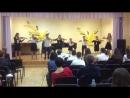 Гор конкурс 2017г Капуа O sole mio Еврейский танец Сводный ансамбль ДШИ преп Белоусова Л
