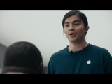 Samsung высмеял Apple