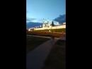 Стены Белого Кремля г.Казань и Мечеть Кул Шариф