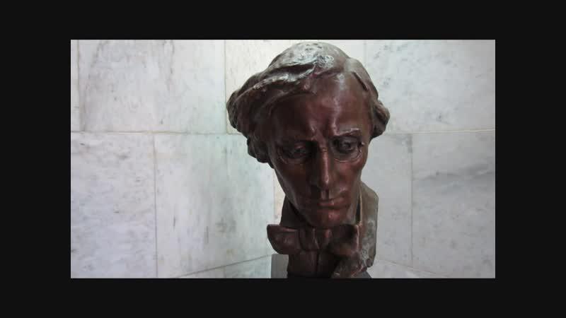 Скульптурный портрет Н Г Чернышевского работы А П Кибальникова