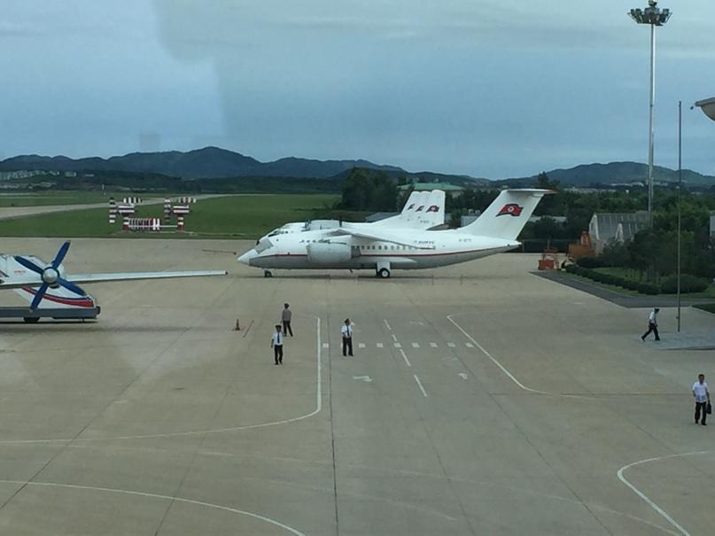 Северная Корея Владивосток. Ан-148