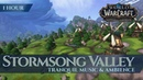 Stormsong Valley - Tranquil Music Ambience 1 h, 4K, World of Warcraft Battle for Azeroth aka BfA