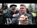 WATCH Police HARASS TommyRobinson Campaign - YouTube