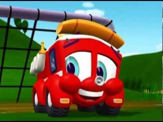 Финли Пожарная Машина  4с08с  Грязнуля Джесс. Мультфильмы для детей
