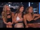 SI Cover Models Nina Agdal, Lily Aldridge Chrissy Teigen on Jimmy Kimmel Live PART 2