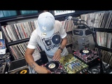 Classic Vinyl 45 Mix Set DJ Ace on custom mini turntables pt2 6-17-18