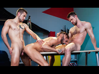 Kurtis wolfe with dante colle and cris knight