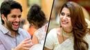 After Marriage Samantha with her Husband Naga Chaitanya at Rana Daggubati's Family Function