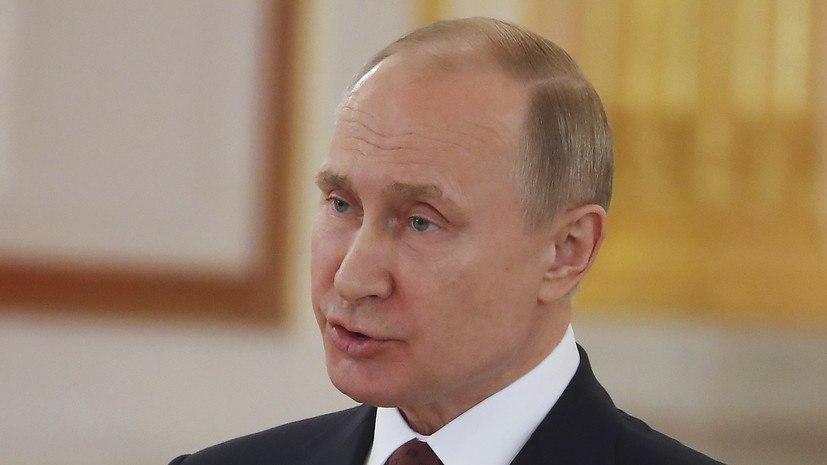 Путин указал Макрону на грубейшее нарушение международного права