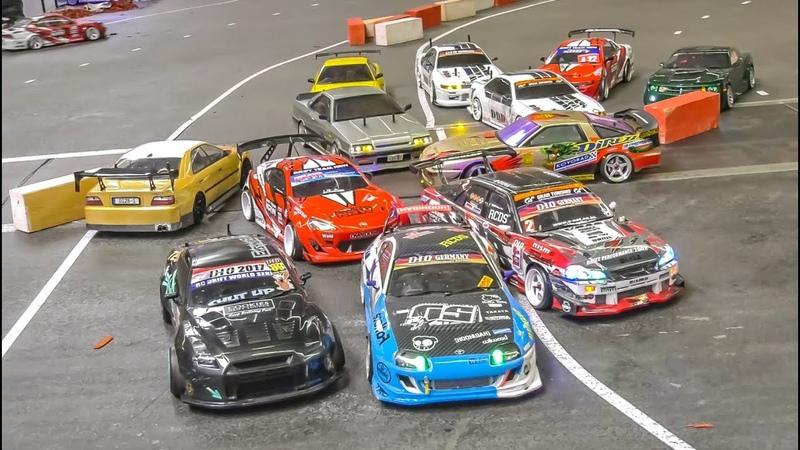 RC Drift Cars Park Contest! Awesome Drift Car Fun!