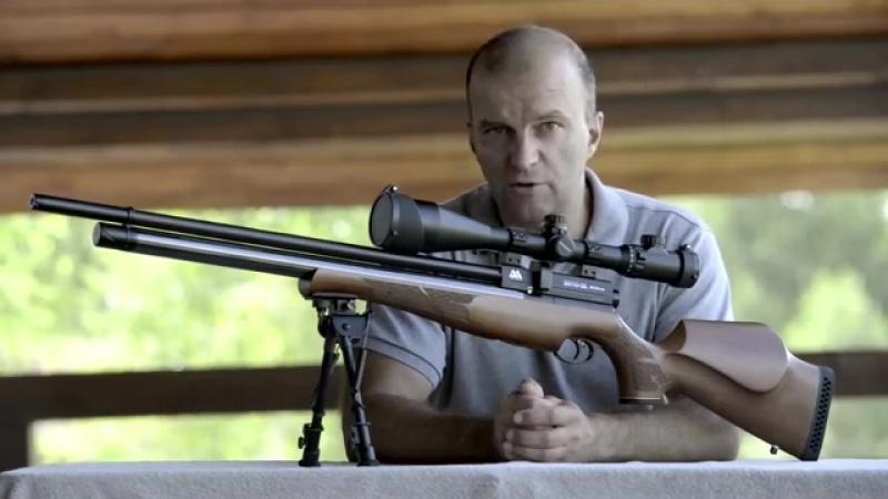Russian Airgun TV. Тест пневматической винтовки Air Arms s510 sl XTRA FAC 177 Pa