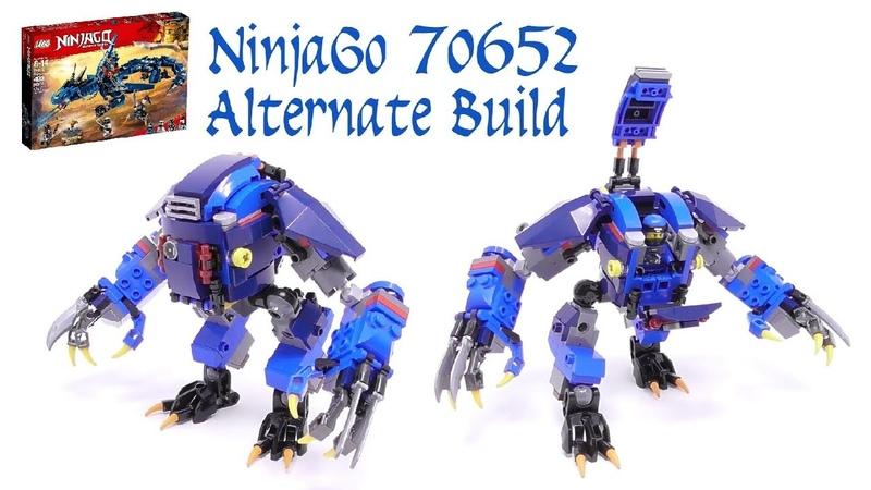LEGO - NinjaGo 70652 Alternate Build (Stop Motion Build)