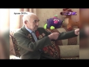 Ветеран Великой Отечественной войны Хамза  Кашапов (с.Старокуручево 2015 г.)