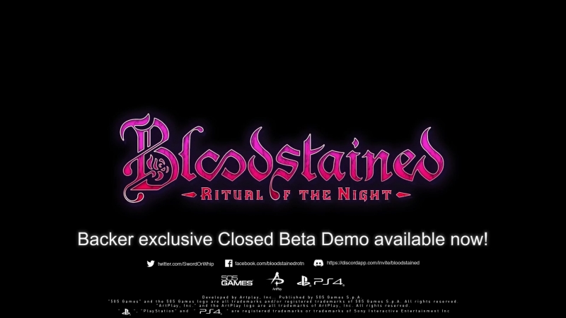 Bloodstained Ritual of the Night – Story Trailer ¦ PS4