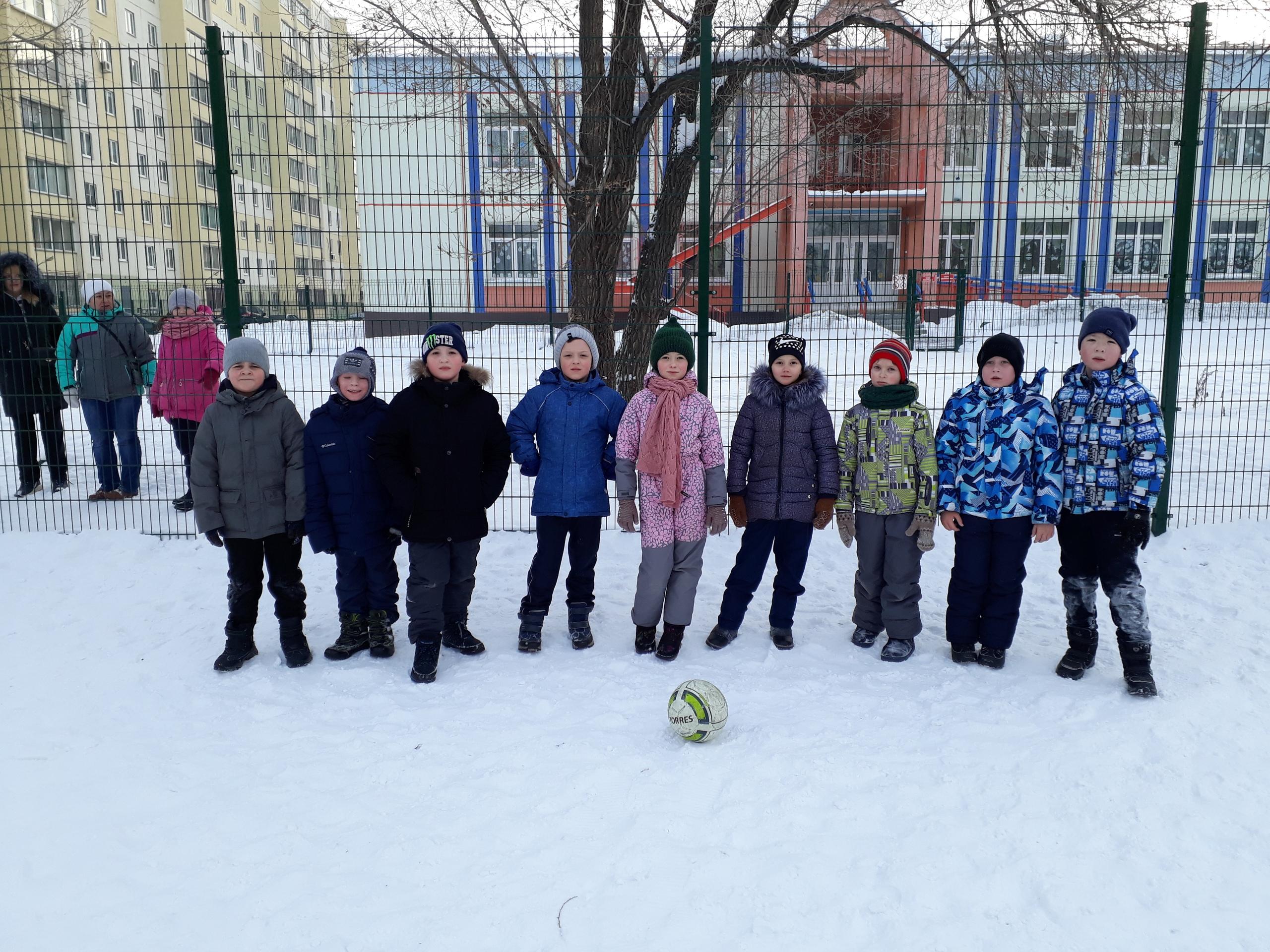 Первые соревнования в рамках школьной олимпиады прошли