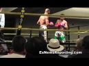 Ismayl Sillakh first Rd KO - EsNews Boxing