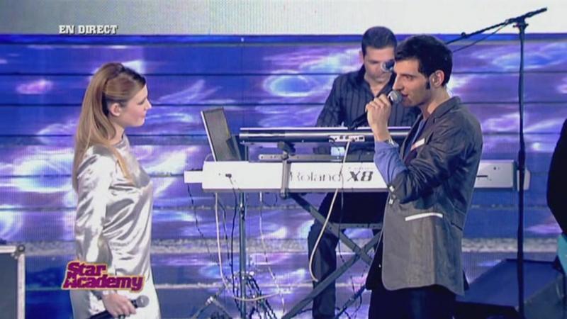 Elodie Fréget Pierre Suppa - La Fidélité (Live At Star Academy 2006)
