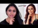 Bollywood Actress Rani Mukharjee Inspired Neutral Smokey Eye Makeup for Brown/Tan/Indian Skin Tone