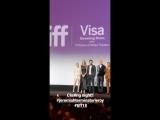 El Cast de JeremiahTerminatorLeroy en TIFF18 - Fuente