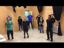 Тренинг по актерскому мастерству в студии «Кино Театр ПМК Непокоренных.