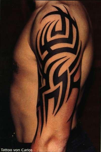 Значение татуировки трайбл Символика тату