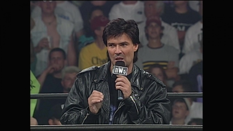 WCW Monday Nitro 19th May 1997 Sting deathdrops Eric Bischoff