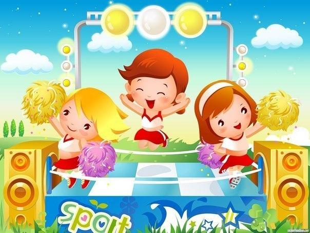 Детская дискотека, под которую так весело бегать, прыгать и играть!