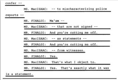 Показания Йоши Уейли, сына Джоли Левин (секретарь MJ)., изображение №24