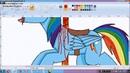 MLP Carousel Rainbow dash - ( speedpaint )