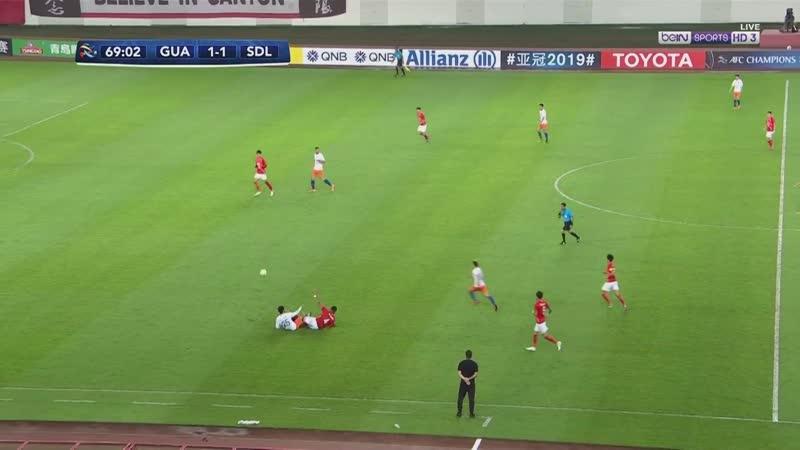 20190618 GuangzhouShandong missed advantage