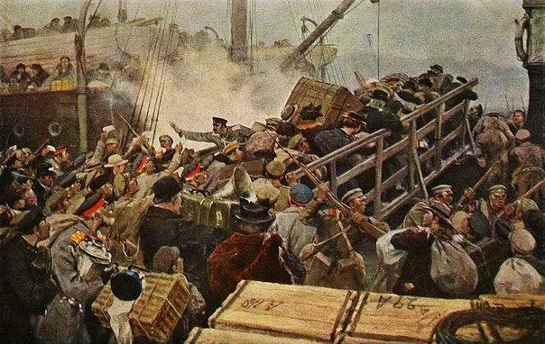 Революция и гражданская война глазами художника X75-D_yutjM