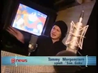 Dragon Ball Z - Tommy Morgenstern Interview (Son-Gokus Deutsche Stimme)
