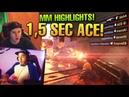 CSGO Matchmaking Highlights 45 - 1,5 Sekunden DUO ACE sein Vater!
