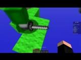 Нуб и Про защищают кровать из Лазурита в Майнкрафт! Бед варс против троллинг ловушка Minecraft
