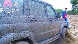 Что нельзя делать в грязевом поле Испытания блокировок и новой резины на Патриоте. Сложный Offroad