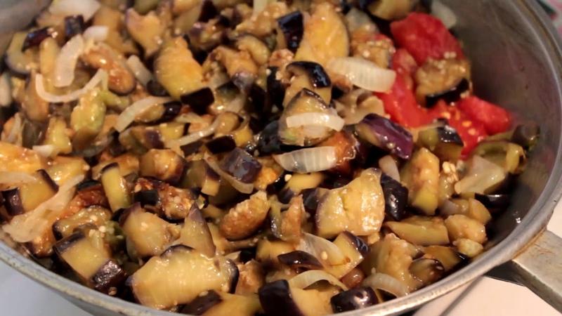 БАКЛАЖАННАЯ Чыхыртма Азербайджанская кухня!! / PATLICAN KAVURMASI/ DELICIOUS EGGPLANT/