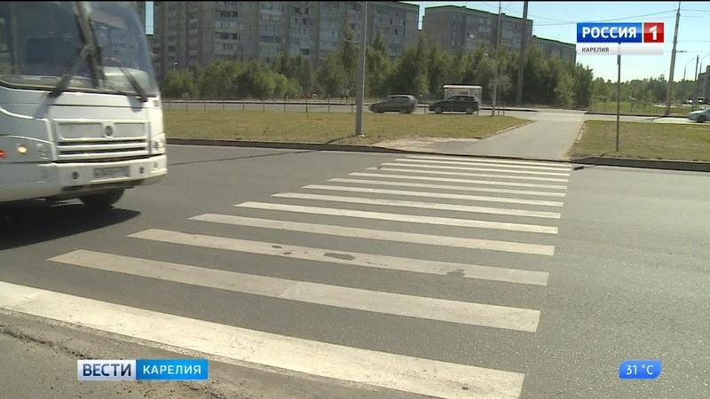 Три новых светофора появятся на аварийно-опасных пешеходных переходах Петрозаводска