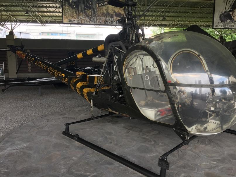 Трофейный разведывательный вертолет