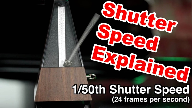 How To Get That CINEMATIC Look When Shooting DSLR Video: Shutter Speed for Stills Vs Video