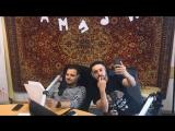 Дмитрий Позов и Сергей Матвиенко в шоу ГутенМоргенФримен
