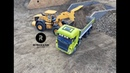 RC Truck Fun! Construction Special - New Year Ride 2018 - Wheel Loader Excavator Action !