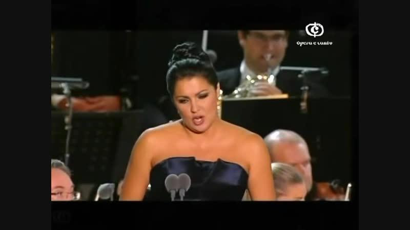 Anna Netrebko sings Damor sullali rosee... Miserere... Tu vedrai che amore in terra