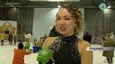 Фигуристы Мирного показали новое ледовое шоу в Рождество