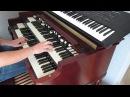 Je t'aime mois non plus cover on Hammond B3